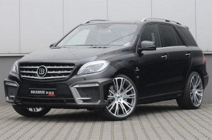 Mercedes-Benz ML63 AMG By Brabus