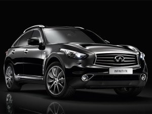 Infiniti FX 2013 Black & White Edition