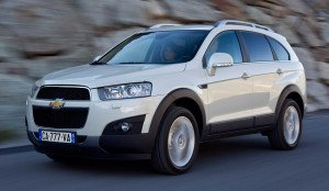 Chevrolet Captiva 2013 new transmission