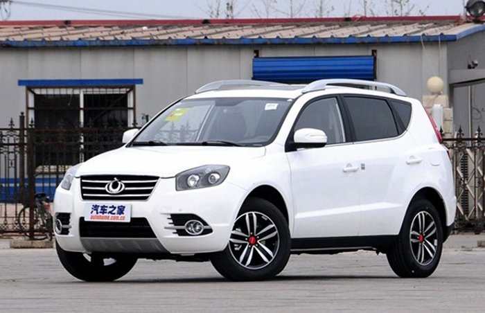 Geely Emgrand X7 2016 года