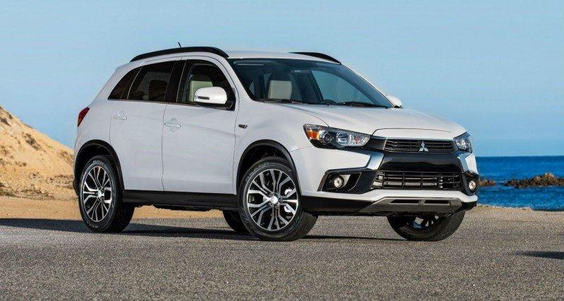 фото нового Mitsubishi ASX