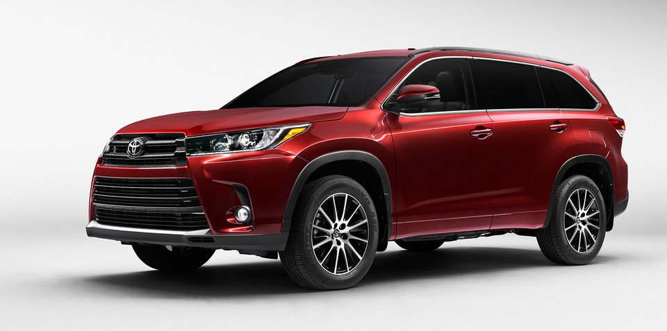 фото Toyota Highlander 2017 года