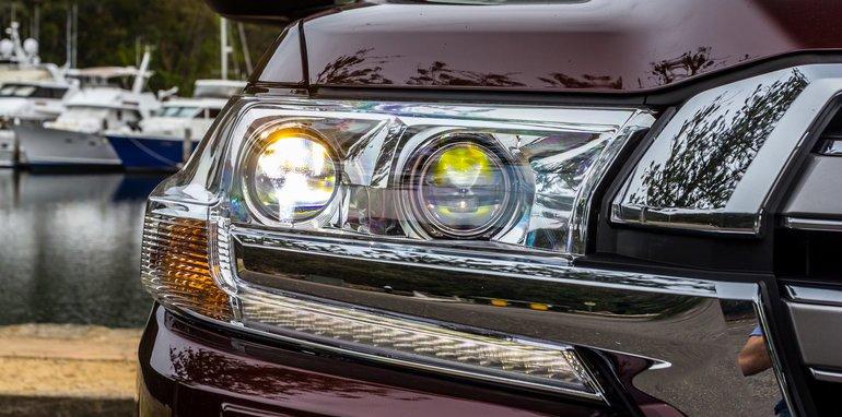 Оптика Toyota LandCruiser 200