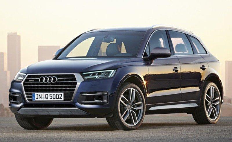 Новый Audi Q5 второго поколения