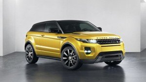 Range Rover Evoque 2013 Yellow limited edition