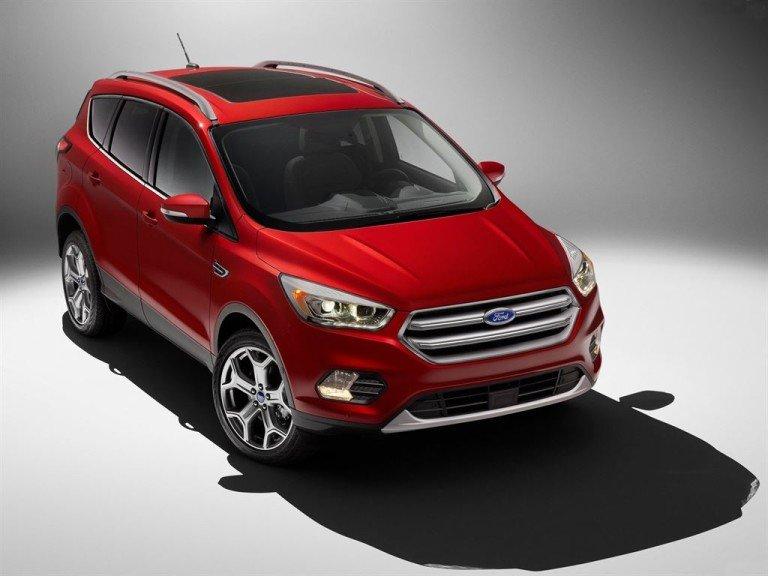 Как выглядит новый Ford Kuga
