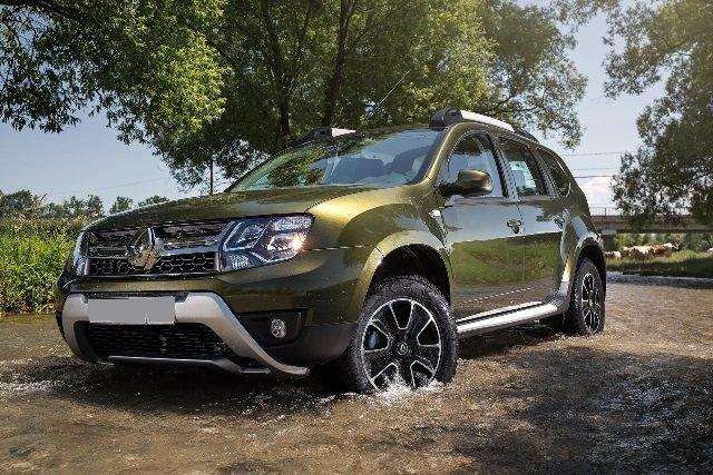 Рестайлинговый Renault Duster привлекает внимание