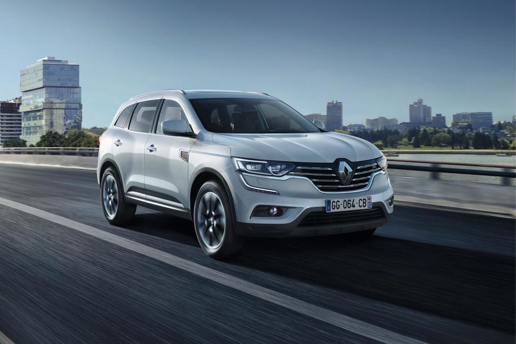 Встречаем Renault Koleos 2 поколения