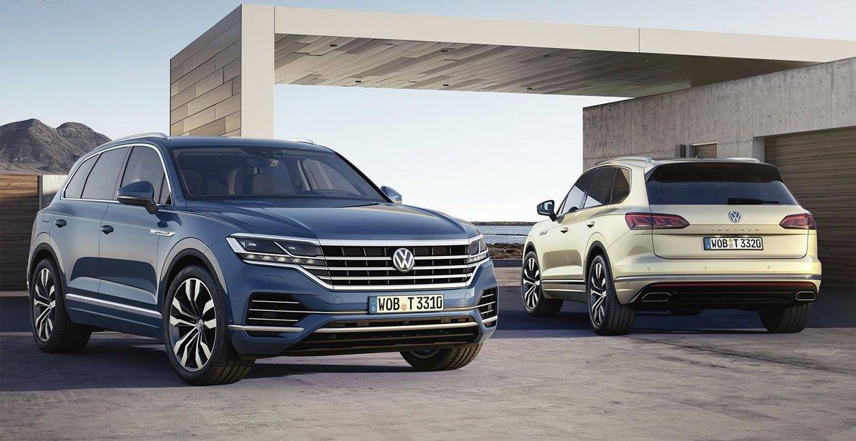 Volkswagen Touareg III поколения для России представлен официально